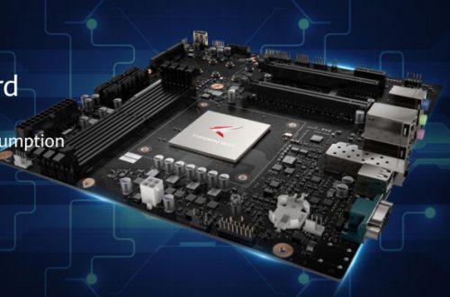 Компания Huawei представила системную плату для настольных ПК на процессорах Kunpeng