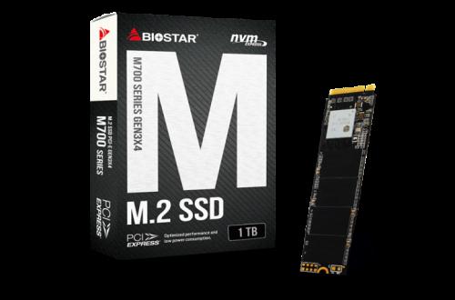Объем накопителей Biostar M700 увеличен до 1 ТБ