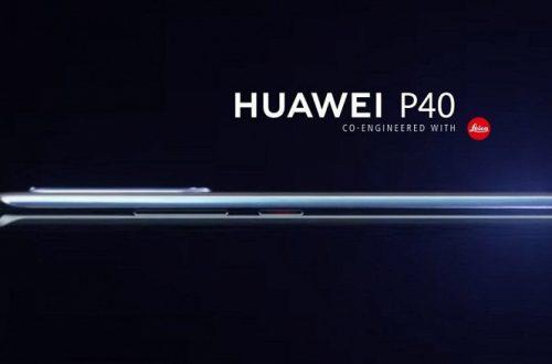 Флагманский камерофон Huawei P40 на первом изображении