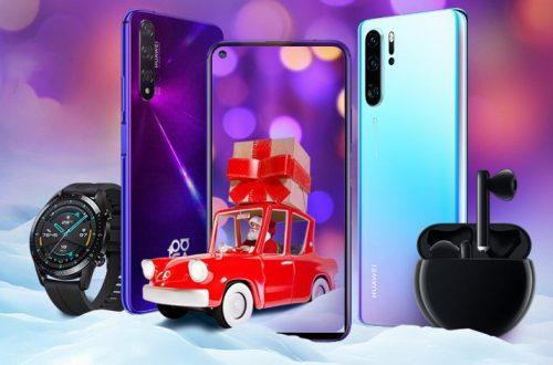 Новогодний подарок Huawei: скидки до 15 тысяч рублей на смартфоны и не только