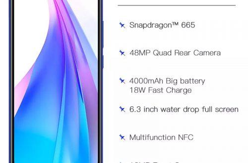 Смартфоны Redmi Note 8T 32/64/128Gb NFC/Global. Цена: 144$/152$/179$