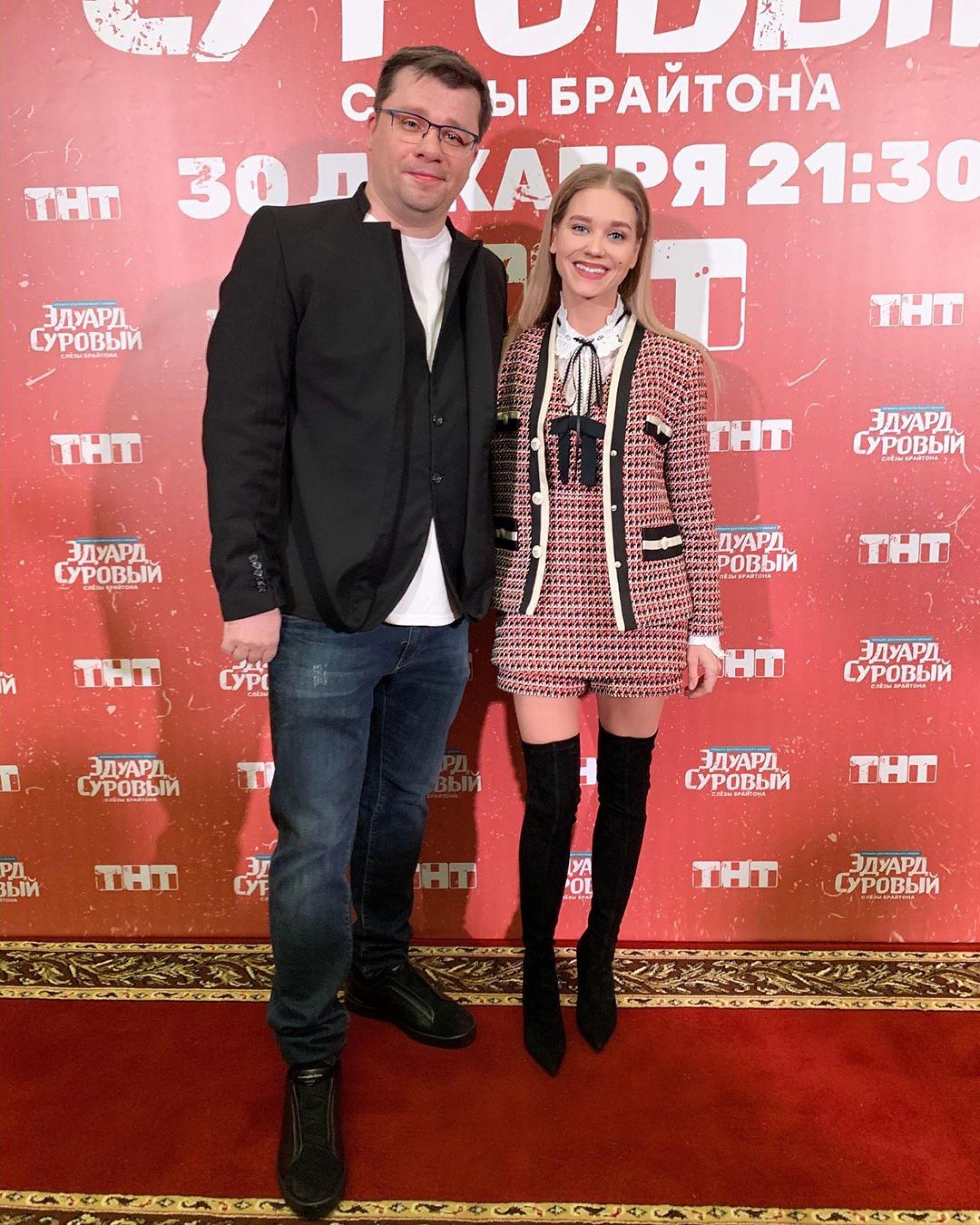 Похудевший Гарик Харламов появился на публике с Кристиной Асмус