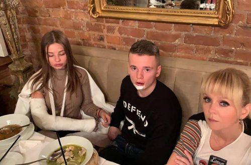 Сын Валерии попал в третье ДТП за неделю