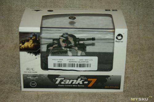 РУ-модель танка Т-34 Happy Cow Tank-7 (777-215). И танчики наши быстры...