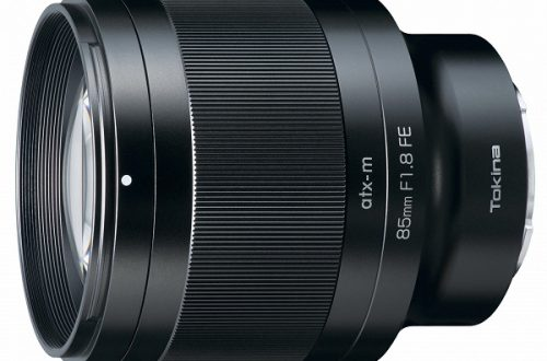 Представлен полнокадровый объектив Tokina atx-m 85mm F1.8 FE