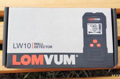 Lomvum LW10 Wall detector - детектор металла, дерева и скрытой проводки.