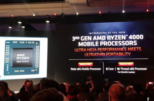 Представлены гибридные процессоры AMD Ryzen 4000. 8-ядерный мобильный Ryzen 7 4800H обходит по производительности настольный Intel Core i7-9700K