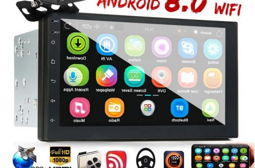 Автомагнитола iMars 7 Inch 2 Din Car MP5 Player for Android 8.0 2.5D   1/16GB