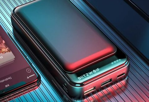 Внешний аккумулятор BlitzWolf BW-P11 20000mAh PD18W QC3.0 за $18.99