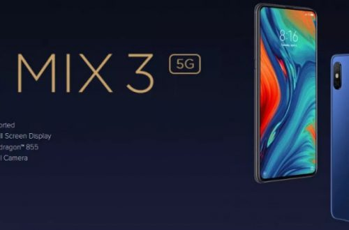 Флагман-слайдер Xiaomi Mi Mix 3 (5G-версия) 6+64 Гб. Цена 279$