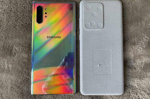 Куда растут смартфоны Samsung? Galaxy S20 Ultra будет даже больше, чем Galaxy Note10+