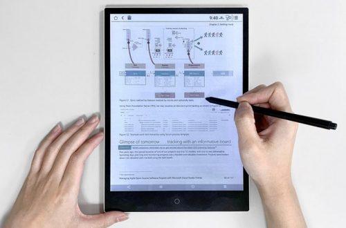 В цветных экранах E Ink Print Color объединена электрофоретическая технология и печать