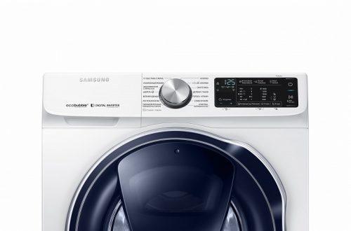 Стиральные машины Samsung нового поколения уже в России