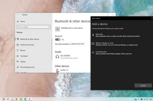 Microsoft улучшит ситуацию с Bluetooth в Windows 10