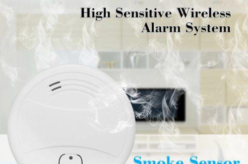 WiFi детектор дыма с уведомлениями через приложение за 11.75$