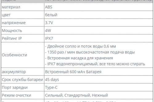 Новинка - автономный ирригатор Xiaomi Zhibai XL1 за 29,98$