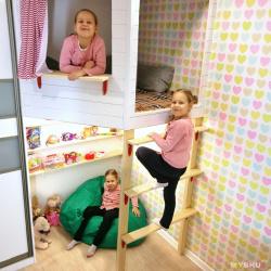 Игровой домик для дочки.