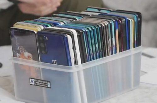 OnePlus 8 Lite впервые на живых фото