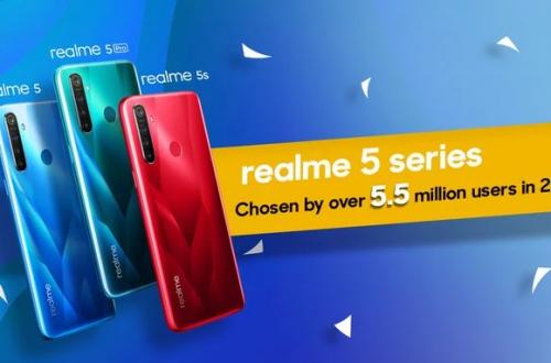 Смартфоны Realme 5 установили рекорд продаж