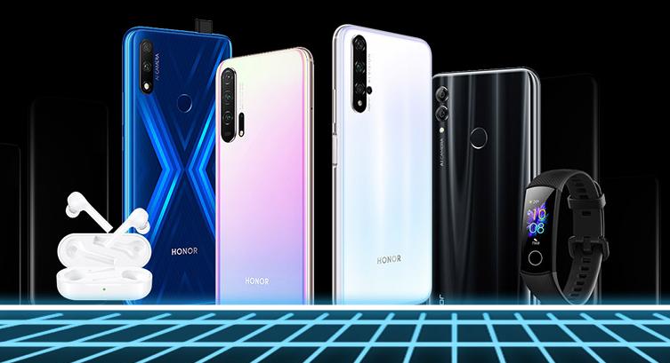 Honor предлагает популярные смартфоны за полцены в России