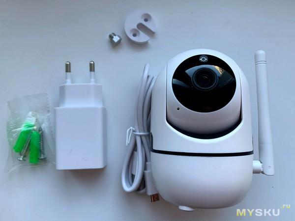 Обзор FullHD wifi ip камеры 1080P