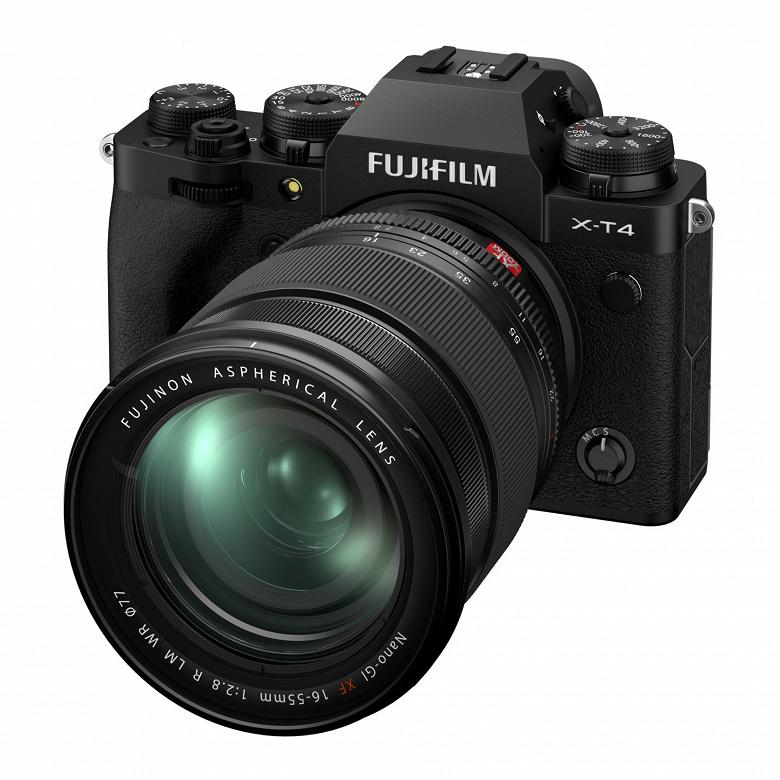 Появились полные спецификации камеры Fujifilm X-T4