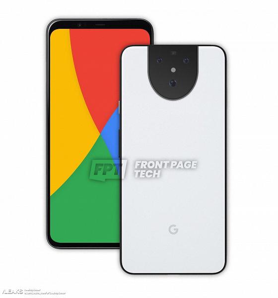 Google Pixel 5 впервые позирует с двух сторон