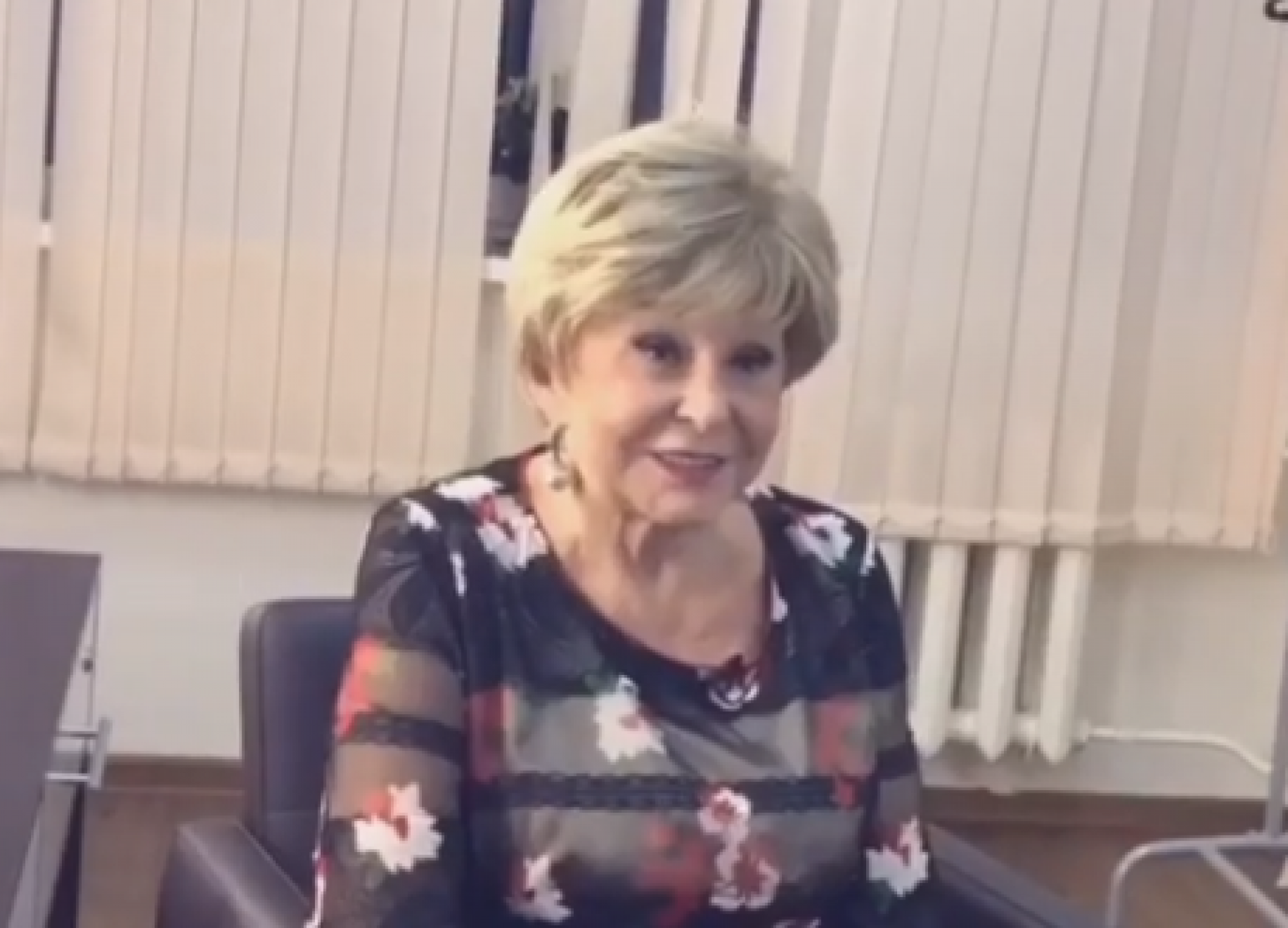 Ангелина Вовк пришла с возлюбленным в Грибоедовский ЗАГС