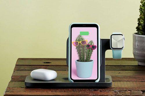 Гаджет для одновременной беспроводной зарядки iPhone, Apple Watch и AirPods поступил в продажу