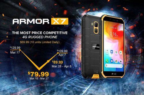 IP69K, MIL-STD-810G, NFC и Android 10 за 80 долларов. Защищенный Ulefone Armor X7 оказался очень доступным телефоном