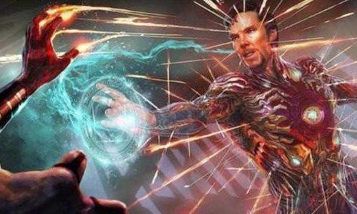 Доктора Стрэнджа в костюма Железного человека вырезали из «Мстителей 3»