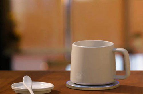 Индукционная подогревалка  чашки и беспроводная зарядка 2 в 1 от Joyroom за 20. 52$