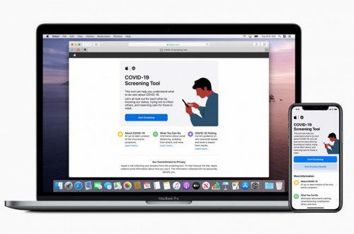 Apple запустила веб-сайт COVID-19 для MacBook Pro и приложение для iPhone