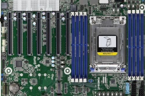 На системной плате ASRock ROMED8-2T есть семь слотов расширения PCIe 4.0 x16