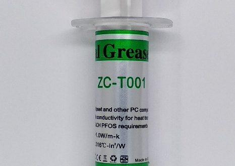 Тестирование термопасты ZC-T001. Без оправданий.