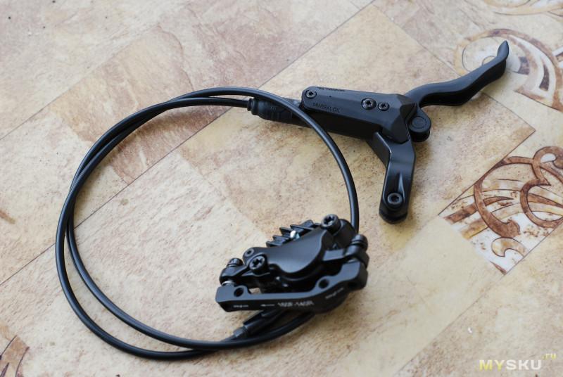 Тормоза RACEWORK XT S M8000 (комплект перед - зад)