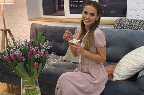 Анна Хилькевич дала повод заподозрить ее в третьей беременности (фото + видео)