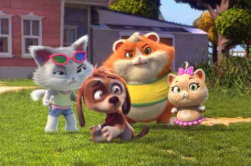 Мультсериал «44 котёнка» стал самым популярным на телеканале «Карусель»
