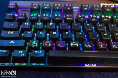 Кейкапы с русскими буквами (колпачки) для механической клавиатуры MotoSpeed CK103. (Повышаем юзабельность механической клавиатуры)