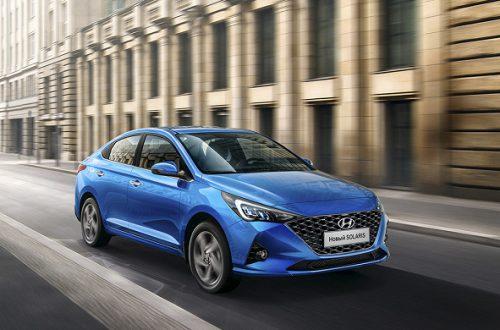 В России появился седан Hyundai Solaris Prosafety
