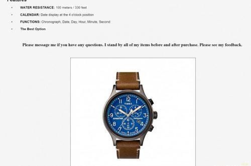 Мужские наручные часы-хронограф Timex Expedition Scout TW4B09000