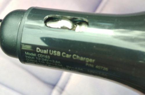 Автомобильное зарядное устройство Ugreen Quick Charge 3.0 модель CD163 с двумя портами USB