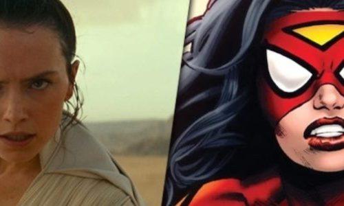 Как Дейзи Ридли выглядит в роли Женщины-паука в фильме Marvel