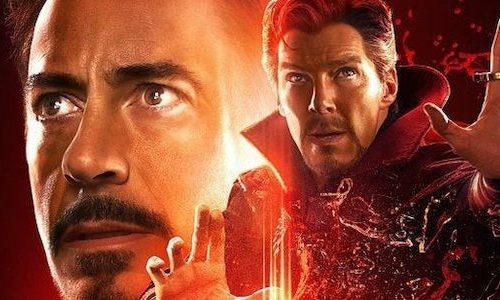 Бенедикт Камбербэтч в костюме Железного человека в вырезанной сцене «Мстители: Финал»