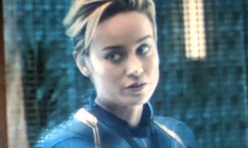 Посмотрите первую встречу Капитана Марвел с Мстителями