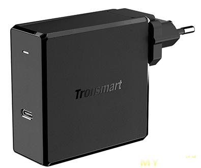 (9.11$) ЗУ Tronsmart с USB-C и USB-A (только китайская вилка)