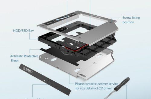 "Корпус Orico для HDD/SSD винчестера 2.5"" за 7.57$"