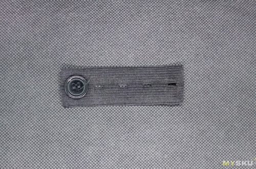 Резинка-удлинитель для пояса в джинсы/брюки и т.д.
