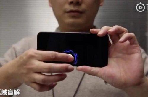 Следующий смартфон Xiaomi сможет распознавать отпечатки в любой точке экрана