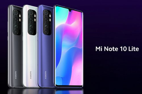 Xiaomi показала Xiaomi Mi Note 10 Lite с гигантской камерой больше, чем у Xiaomi Mi Note 10
